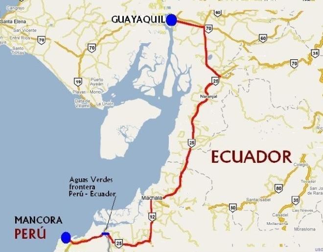 Frontera Perú - Ecuador