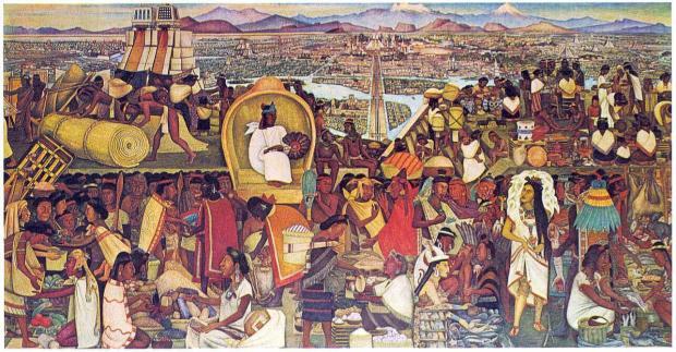 Mercado de Tlatelolco - Diego Rivera