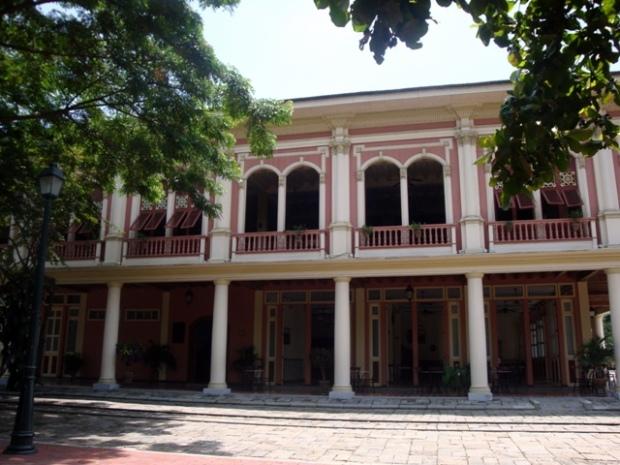 Entrada al Parque Histórico de Guayaquil