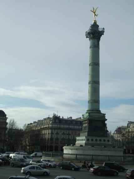 Columna de Julio de la Plaza de la Bastilla.