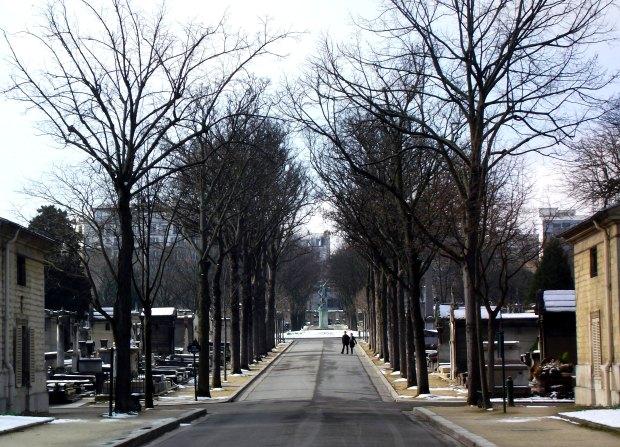 Entrada al Cementerio de Montparnasse