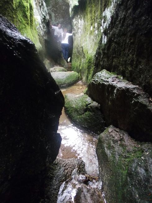 Uno de los tantos arroyos que se ven durante la caminata