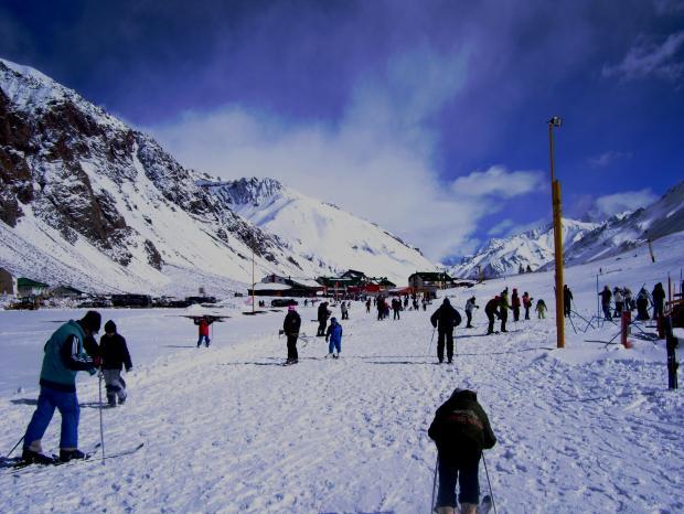 El Centro de esquí