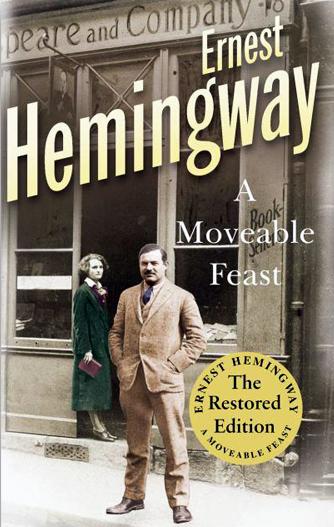 """Portada del libro """"París era una fiesta"""" de Ernest Hemingway"""