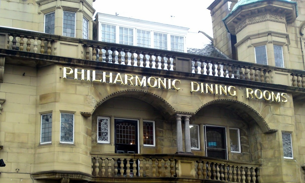The Philharmonic Dining Rooms. Hanging out with The Beatles  The Philharmonic Dining Rooms   Un