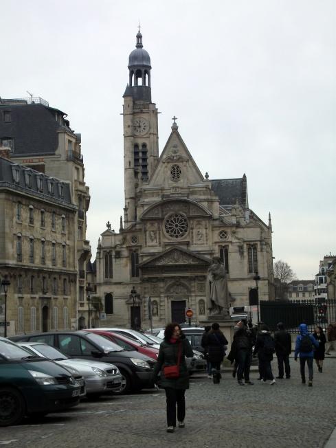 Iglesia St Etienne du Mont