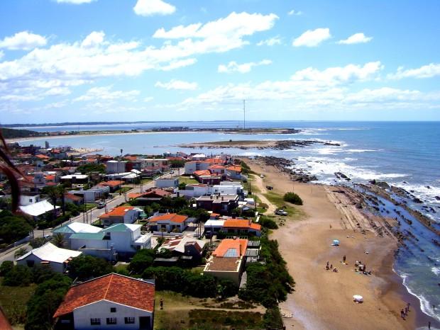 Vista panorámica de la ciudad desde lo alto del faro