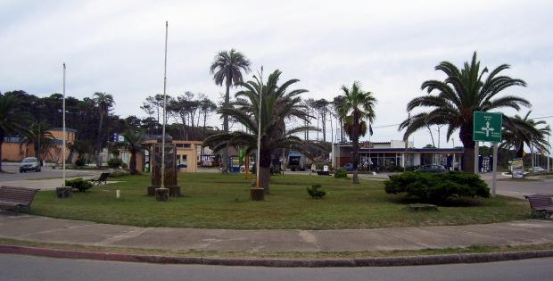 Rotonda, alrededor de la cual se concentran los comercios