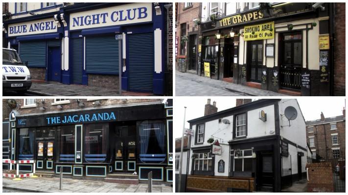 Pubs y bares frecuentados por los Beatles en Liverpool