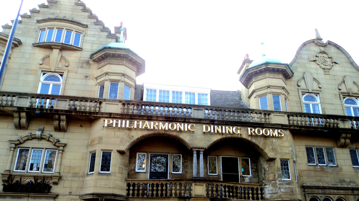 Hanging out with The Beatles: The Philharmonic Dining Rooms