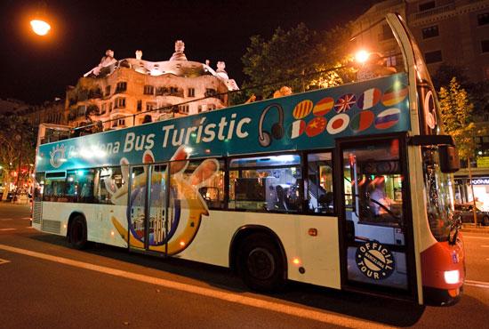 Barcelona Bus Turístico Nocturno
