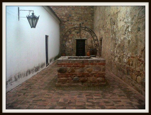 Patio del Aljibe - Foto tomada con el celular