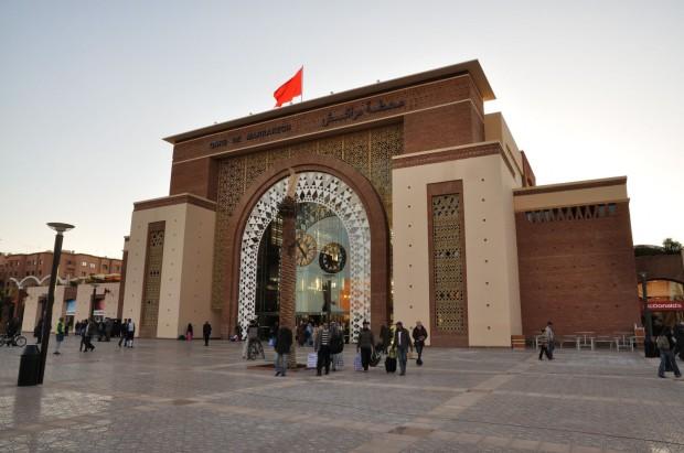 Nueva estación de trenes en Marrakech