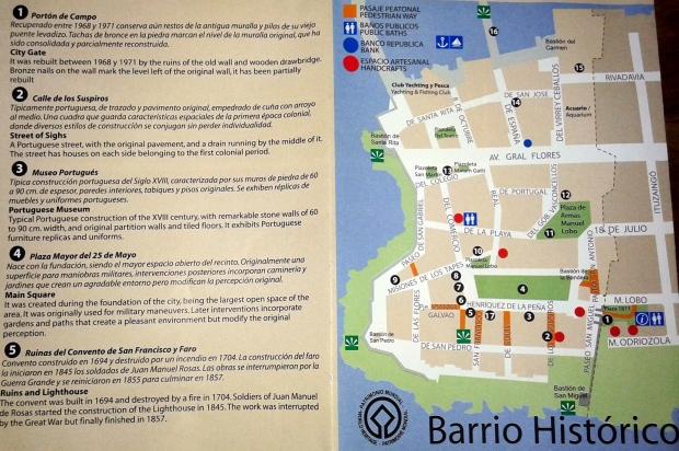 Mapa de la Oficina de Turismo