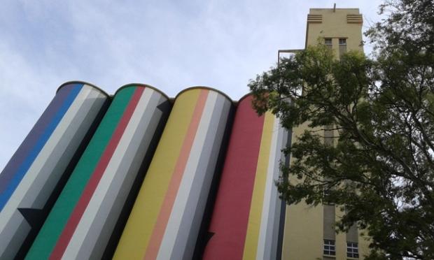 Fachada del Museo de Arte Contemporáneo de Rosario (MACRo)