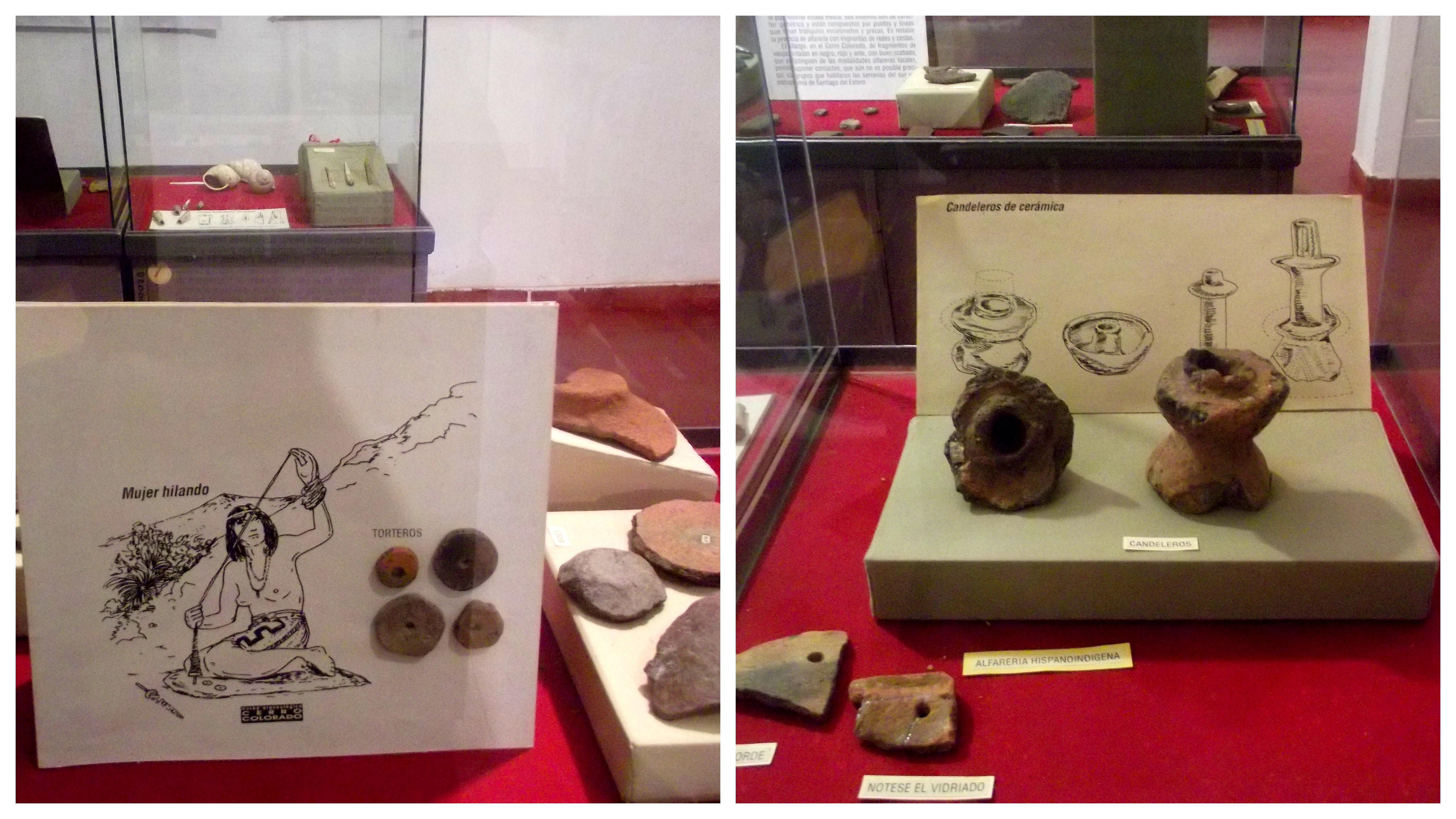 Resultado de imagen para fotos museo arqueologico cerro colorado