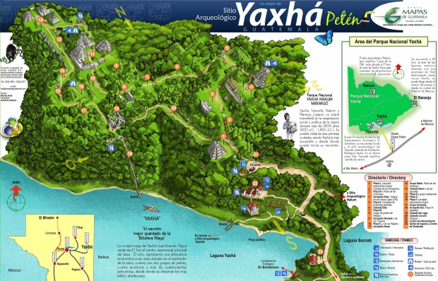 yaxha-map