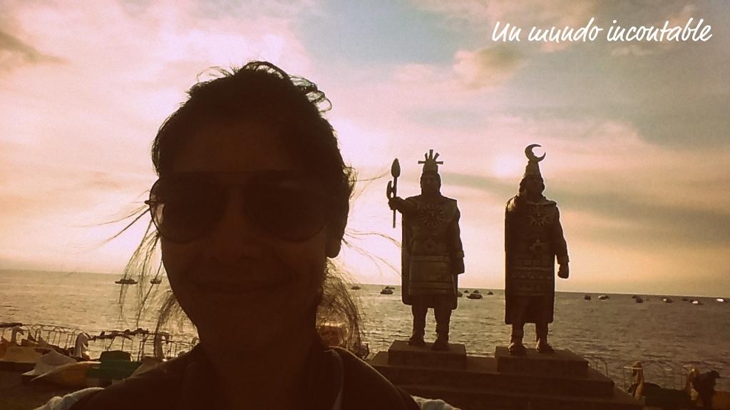 Estatua de Los Incas