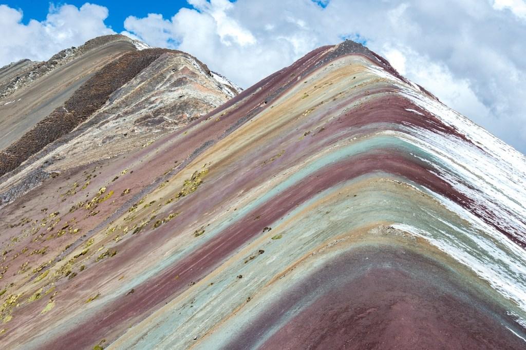 mountain colorada, peru, travel
