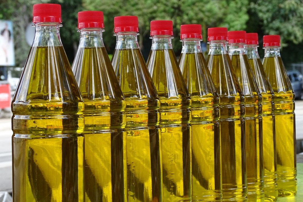 olive oil, market, oil