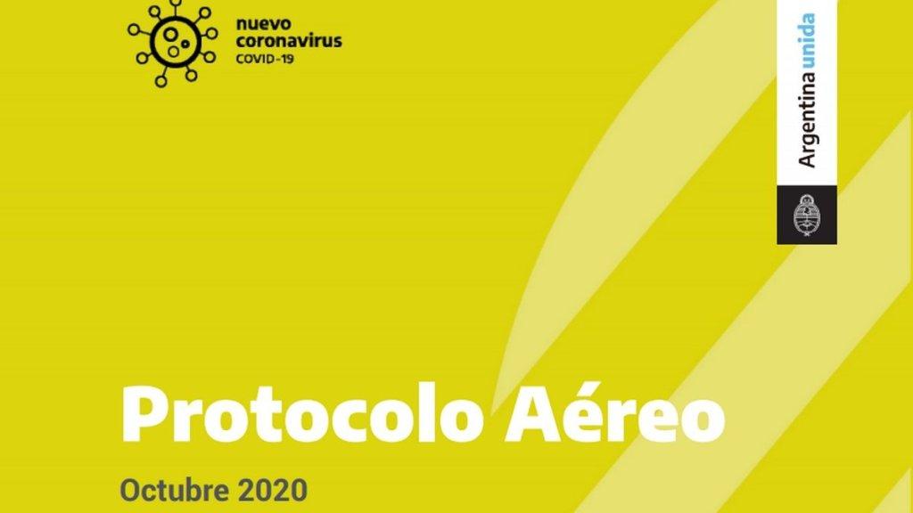 protocolo aereo argentina