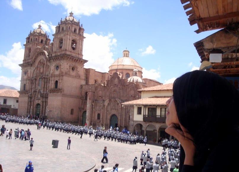 cusco, plaza, imperial, peru